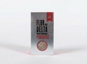 Flor de Sal Pimientas 125 g