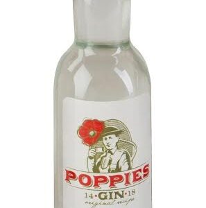 Poppies Gin Rubbens 4 cl
