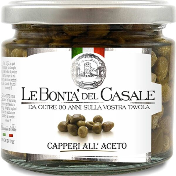 LeBonta' del Casale Capperi ALL'ACETO 210gr