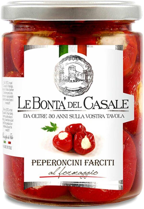 Peperoncini Facitti formaggio 280 g Le Bonta del Casale