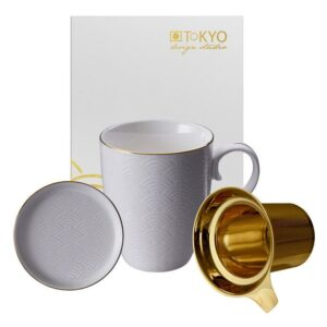 Giftbox, Nippon White MUG SET+FILTER Wave