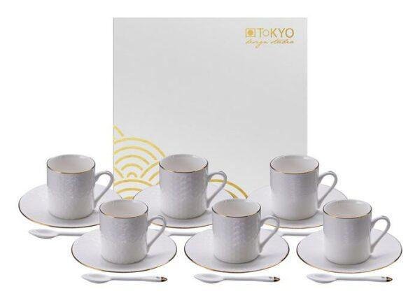 Giftbox, Nippon White Espresso/set/6 kopjes
