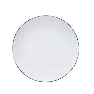 Nippon White bord 30 cm Stripes