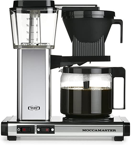 Coffee machine KBG Polish Silver Moccamaster