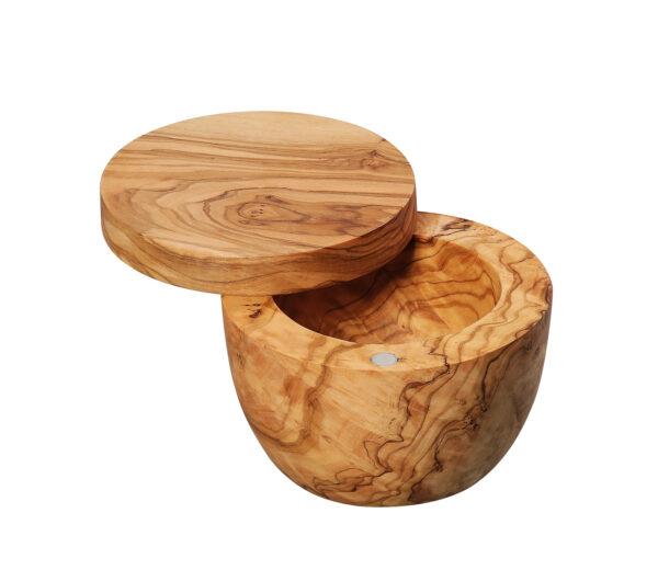 Olijf houten zoutvat ZASSENHAUS