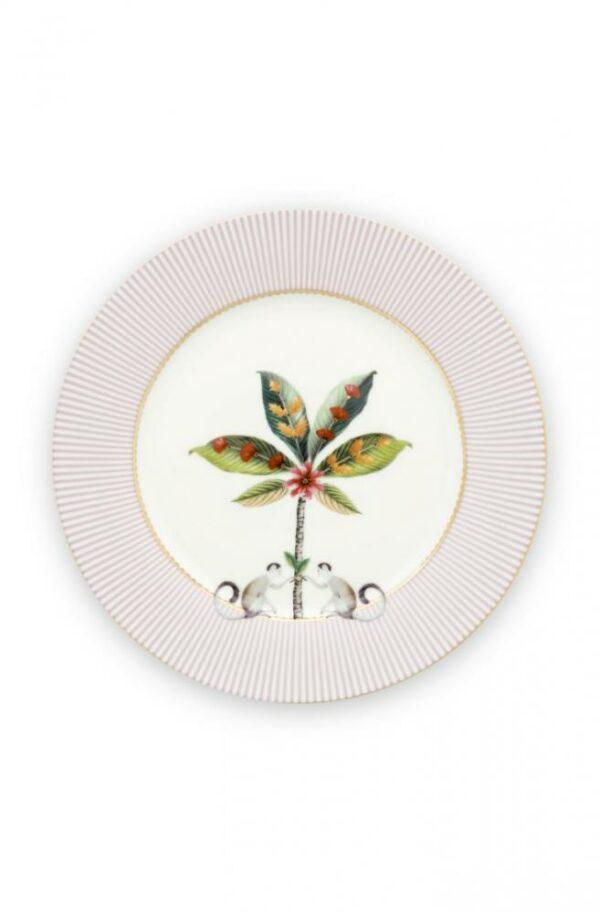 Plate La Majorelle Pink 21cm