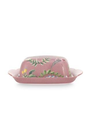 Butter Dish La Majorelle Pink PIP