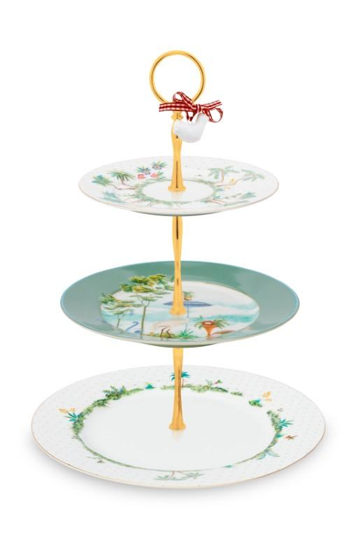 Cake Stand 3/Layers Jolie PIP