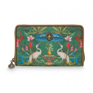 Wallet Heron Homage Green PIP