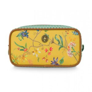 Cosm. Bag Square Small Petites Fleurs Yellow PIP