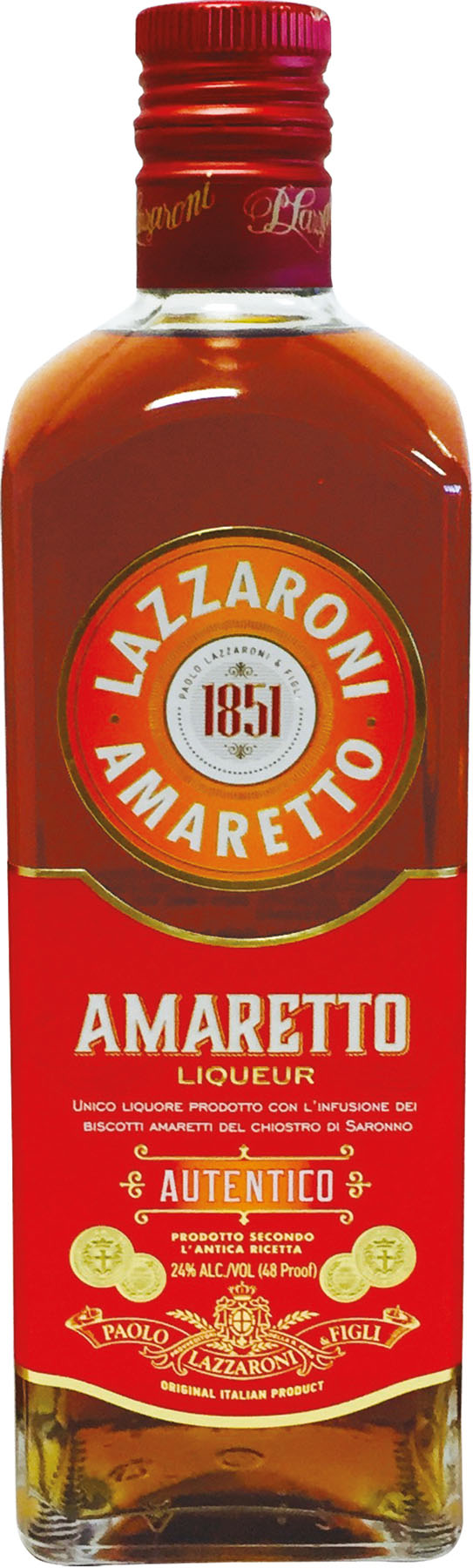 Amaretto Autentico Lazzaroni 100 cl 24°
