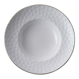 Nippon White Deep Plate 21cm, 160ml, Star