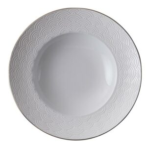 Nippon White Deep Plate 25,8cm, 300ml, Wave