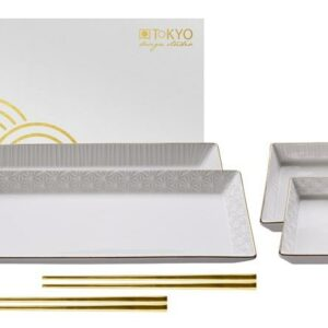 Nippon White Sushi Plate Set giftbox /1