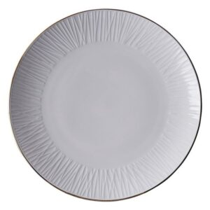 Nippon White Plate 28.5cm Lines