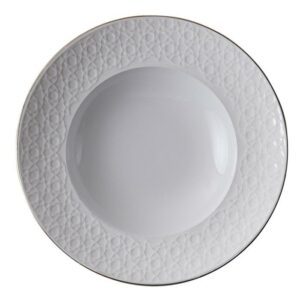Nippon White Deep Plate 21cm, 160ml, Stripe