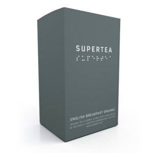 SUPERTEA english breakfast organic 20 ST