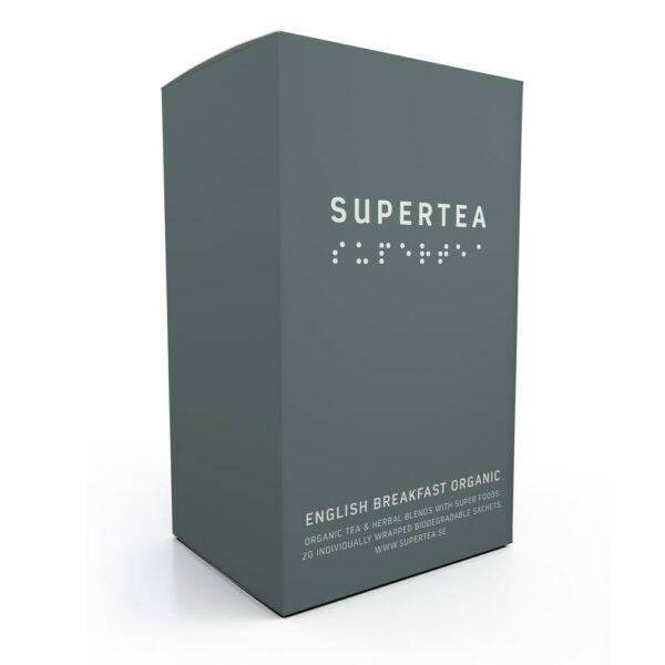 SUPERTEA english breakfast organic 20 ST