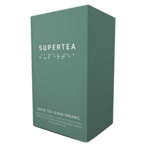 SUPERTEA Green Tea Lemon Organic 20 st