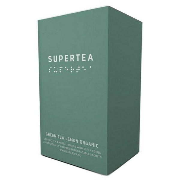 SUPERTEA Green Tea Lemon Organic 20 st