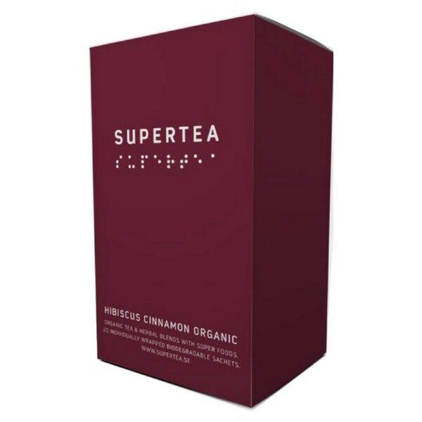 SUPERTEA Hibiscus Cinnamon Organic 20 st