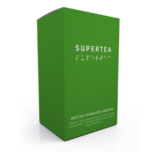 SUPERTEA Matcha mandarin Organic 20 st