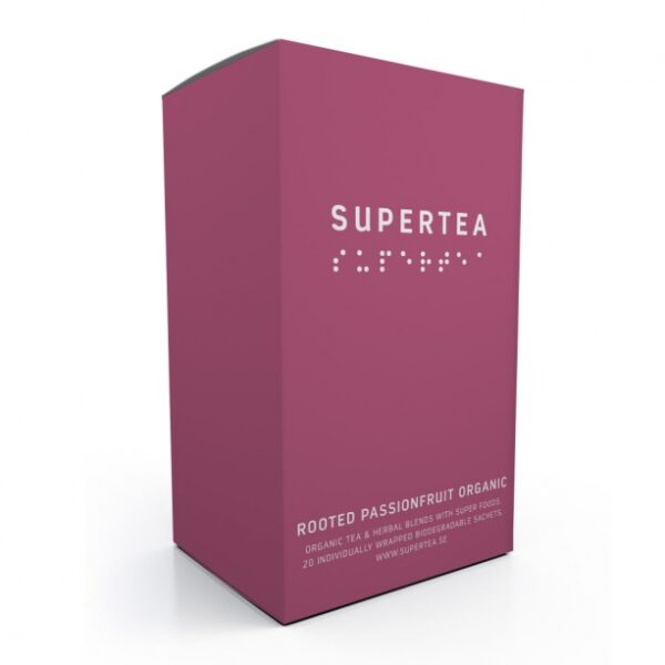 SUPERTEA Rooted Passionfruit Organic 20 st