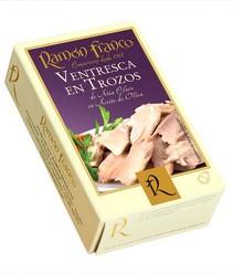 Ventresca en Trozos Buikspek van tonijn Ramon Franco 115 gr