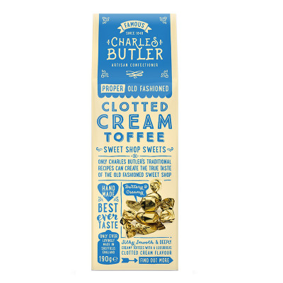 Clotted Cream Toffee CHARLES BUTLER 110 gr