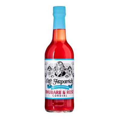 Mr. Fitzpatricks Rhubarb & Rose (No added sugar) 500 ml