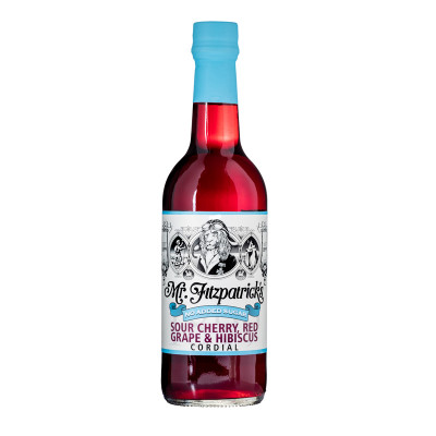 Mr. Fitzpatricks Sour cherry, Red grape & Hibiscus(No added sugar) 500 ml