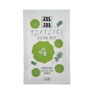 Tzatziki Kruidenmix 'The man with the Pan' 30 gr