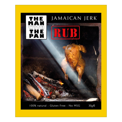 Jamaican Jerk 'The man with the Pan' 30 gr