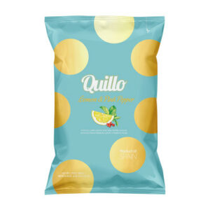 Chips Quillo Lemon & Pink Pepper 130 gr