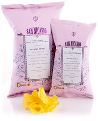 San Nicasio CHIPS natuur met Himalayazout 40 gr