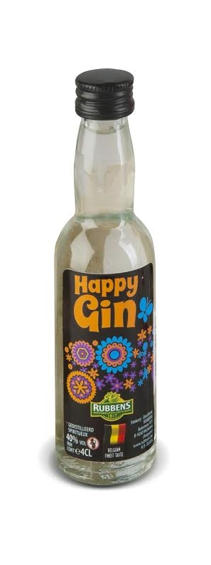 Happy gin Rubbens 4 cl