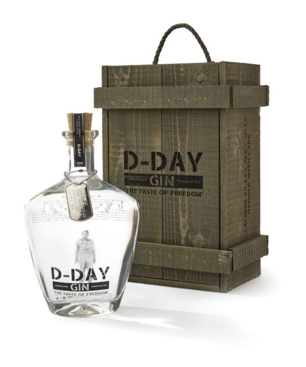 D-day gin Houten Kost 20 cl