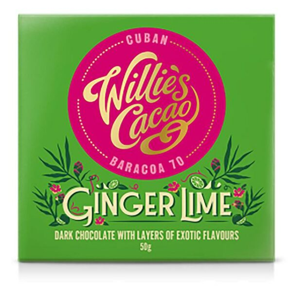 Willie's cacao Repen - Ginger Lime