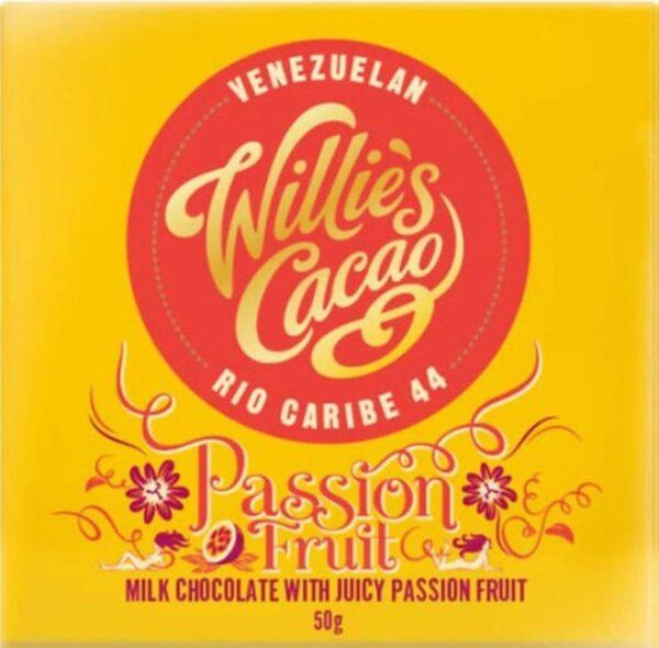 Willie's Cacao Repen - Melkchocolade met Passievruchten
