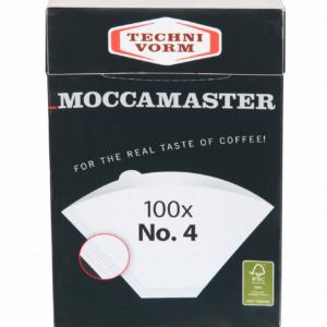 Techni Vorm Koffiefilters No 4 100 stuks Moccamaster