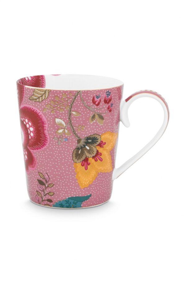 Alphabet Mug Floral Fantasy Pink Y
