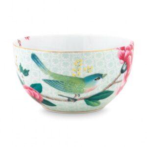 Bowl Blushing Birds White