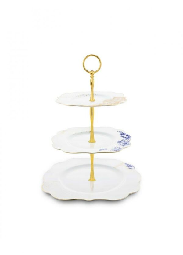 3 Layers Cake Stand Royal White