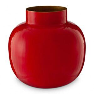 Vase Meral Round Red