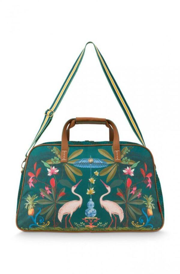Weekend Bag Medium Heron Homage Green