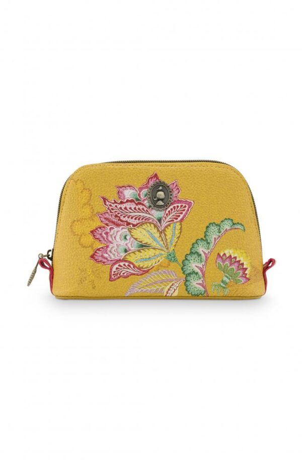 Cosmetic bag triangle Small Jambo Flower