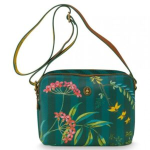 Cross Body Medium Fleur Grandeur Green