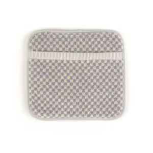 Potholder Bunzlau Small Check 23x20cm, grey