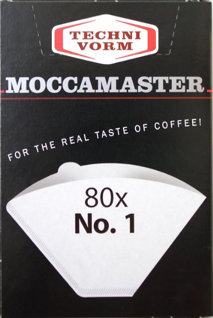 Techni Vorm Koffiefilters No 1 100 stuks Moccamaster