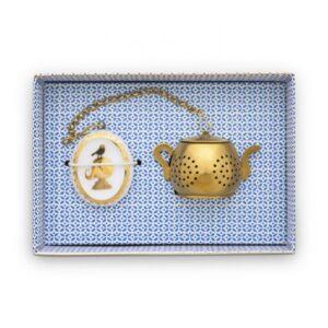 Tea Infuser Medaillon Royal White PIP